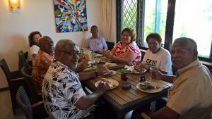 Recent visit to Fiji by Governor Megan Allan & Lieutenant Governor Suzanne Villed